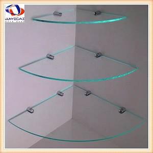 Etagere En Angle : etagere d 39 angle en verre pour douche ~ Teatrodelosmanantiales.com Idées de Décoration