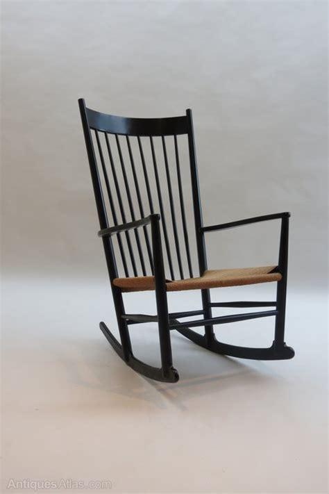 antiques atlas ebonised j16 rocking chair by hans j