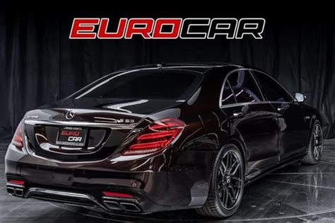 Adding to that their collaboration with mclaren and amg, mercedes currently produce cars that rival sporty italians in terms of speed and flamboyance. 2019 Mercedes-Benz S-Class S63 AMG For Sale in Costa Mesa, CA | Global Autosports