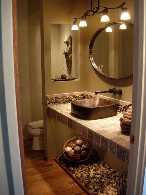 Spa Themed Bathroom Ideas Spa Powder Room Bathroom