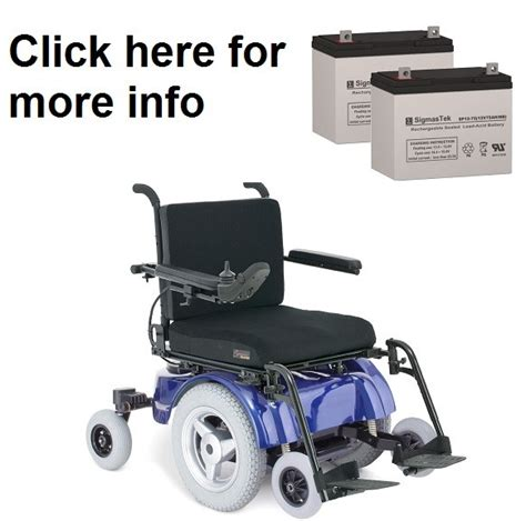 Jazzy Power Wheelchair Batteries by Pride Mobility Quantum Jazzy 1400 Power Wheelchair Battery