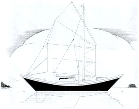 Bluewater Boat Plans by Tiny Blue Water Sailboats