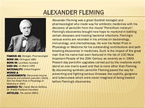 alexander fleming quotes image quotes  hippoquotescom
