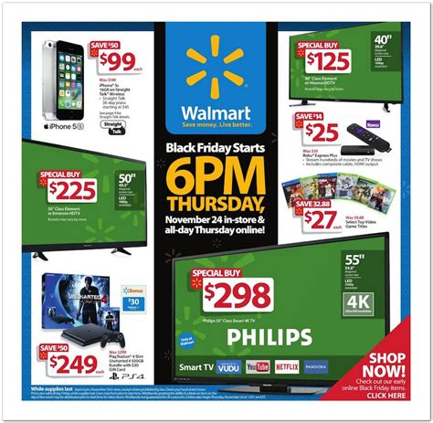 Walmart Desks Black Friday by Wal Mart S 2016 Black Friday Ad Is Posted Shopportunist