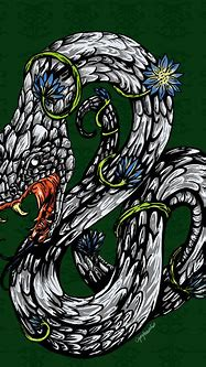 Slytherin Crest by capefoxalix on DeviantArt