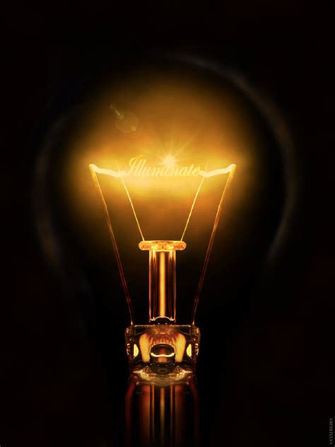Illuminate Light Bulb Effect Text By Cinitriqs On Deviantart