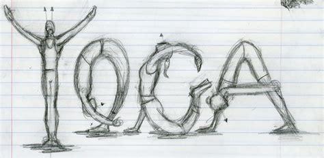 art  garrick dean yoga sketch