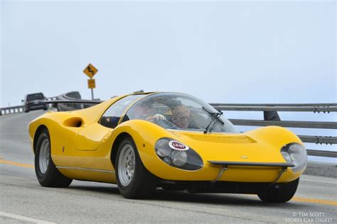 Ferrari intended to produce at least fifty examples for homologation by the csi in the sport 2.0 l group 4 category. Pebble Beach Tour d'Elegance 2014 - Photo Gallery