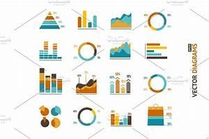 Infographic Set Elements  Graph