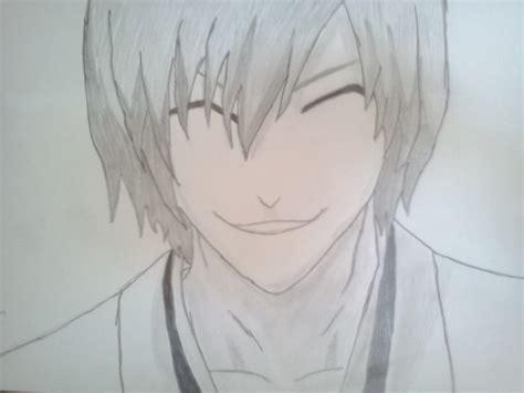 drawing anime images ichimaru gin wallpaper  background