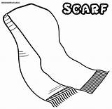 Scarf Coloring Pages Drawing Stripes Bad Case Adults Colorings Getdrawings Radiokotha sketch template