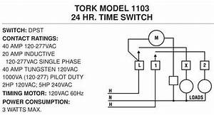How To Wire A 1104 Series Time Switch