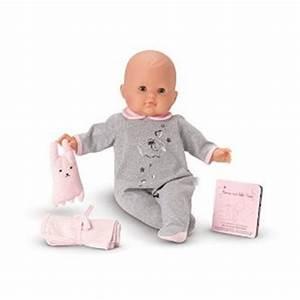 poupee mon bebe classique dodo corolle magasin de jouets With tapis chambre bébé avec poupee corolle fleur