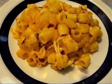 le si鑒e ricetta pasta e patate al forno con scamorza affumicata e cucinando per caso e per