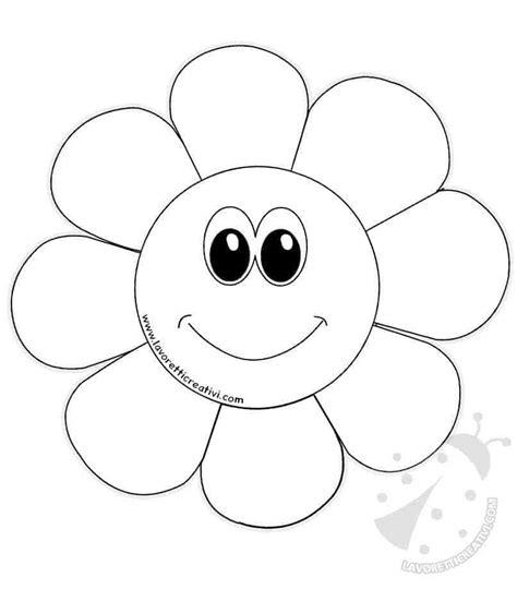 immagini da ricopiare per bambini disegni di fiori di primavera per bambini da colorare