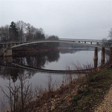 Līkais tilts   Ogre - 5 tips
