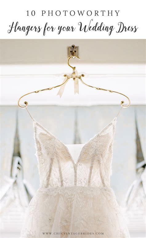 beautiful wedding dress hangers chic vintage brides