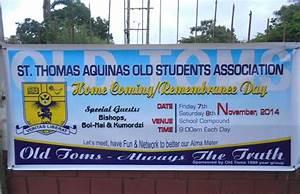 Homecoming: Aquinas old boys return to school ...