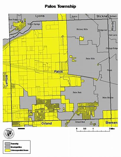 Palos Unincorporated Cook County Township Townships Park