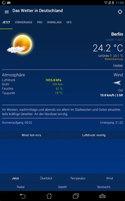 weather germany wetter