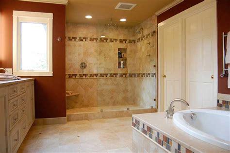 15 Sleek And Simple Master Bathroom Shower Ideas