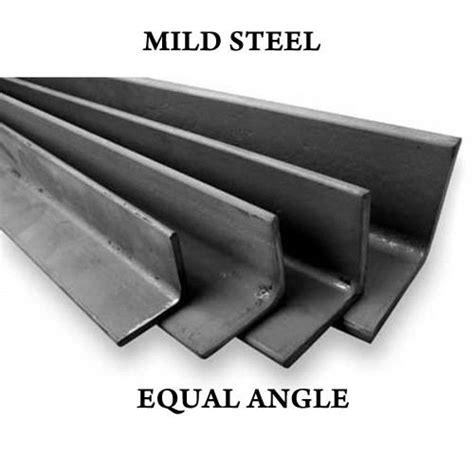 "1"" X 1"" And 2"" X 2"" Mild Steel Fabrication Angle Iron Bar"