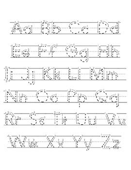 letter tracing worksheets handwriting practice