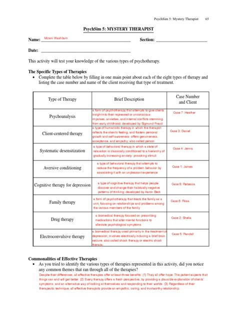 psychsim  classical conditioning worksheet answers