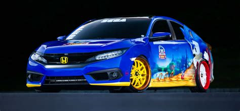 honda shows  special sonic civic