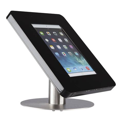 tablet stand for desk desk stand for tablets 9 11 inch black with stainless