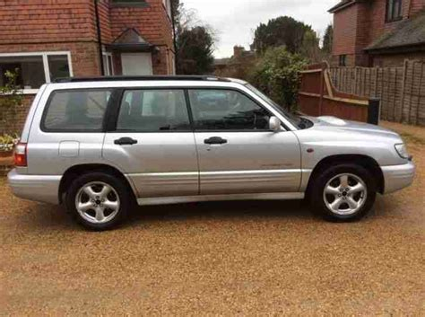 Subaru Forester Turbo For Sale by Subaru 2002 Forester S Turbo Awd Auto Silver Car For Sale