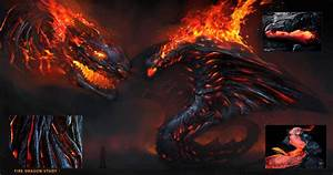 The gallery for --> Blue And Red Fire Dragons