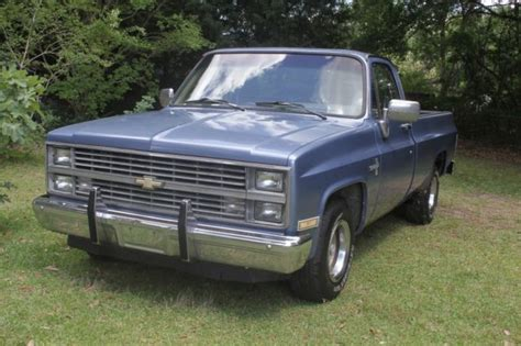 1984 C10 Chevy Silverado Long Bed 350 Engine