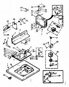 Kenmore 1107014026 Washer Parts