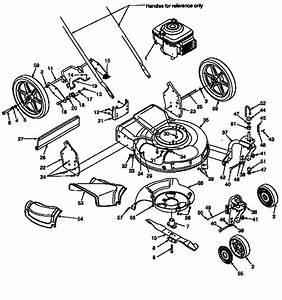 Mower Deck Diagram  U0026 Parts List For Model 247370350
