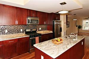 Kitchen Paint Colors With Cherry Cabinets White Granite