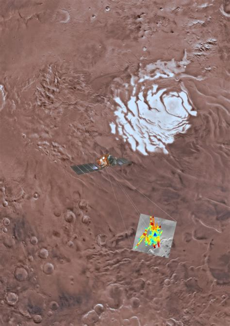 scientists discover giant liquid water lake  mars
