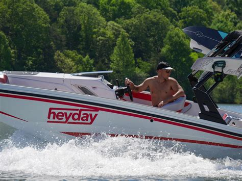 Where Are Heyday Boats Made by Heyday To Sponsor Wakesports Icon Miller Alliance
