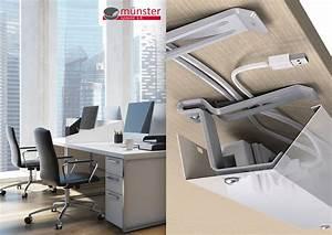 Kabel Am Schreibtisch Verstecken : m nster systeme innovatives kabelmanagement im b ro ~ Sanjose-hotels-ca.com Haus und Dekorationen