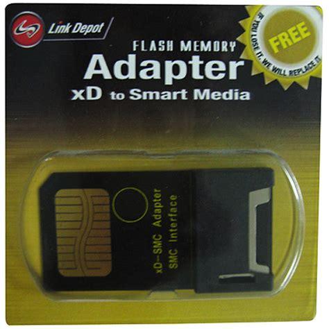 smart media card link depot adapter flash memory xd to smart media card tvs electronics computers laptops