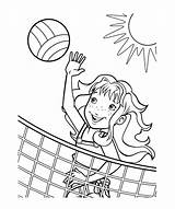 Coloring Pages Volleyball Bulbasaur Printable Colouring Popular Print Getdrawings Getcolorings sketch template