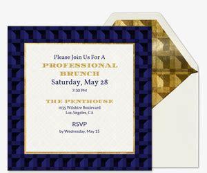 corporate professional event invitations evite