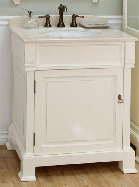 single sink bathroom vanity  cream white