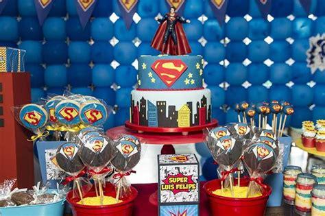 souvenir ulang tahun anak kara 39 s ideas superman birthday planning ideas
