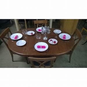 Table Avec 4 Chaises : table ronde avec rallonge 4 chaises table basse bric mat ~ Teatrodelosmanantiales.com Idées de Décoration