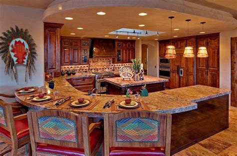 Beautiful Interiors Indian Homes - mexican kitchen decor with red cabinet paint decolover net