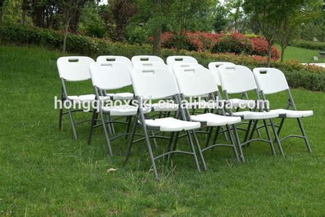 white garden folding chairs plastic wedding rental