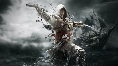 A collection of the top 51 assassin's creed black flag wallpapers and backgrounds available for download for free. Assassins Creed 4 Black Flag Wallpaper HD #6968896