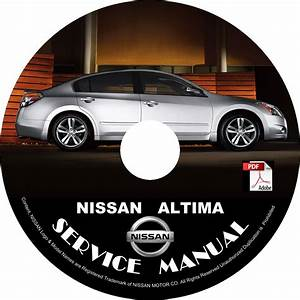 Nissan 2009 Altima Service Repair Shop Manual On Cd 09