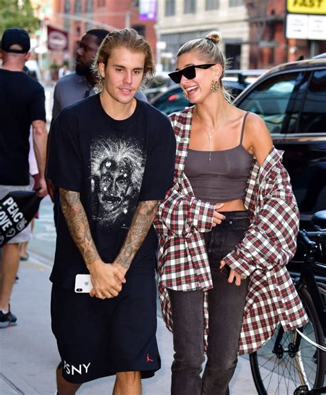 Hailey Baldwin and Justin Bieber Out in NYC August 2018 ...